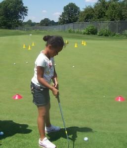 Sarah golf- camp